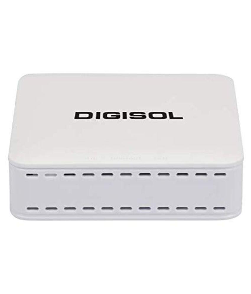 Digisol DG-GR1010 EPON ONU Managed 10/100Mbps + 1000Mbps Network Switch