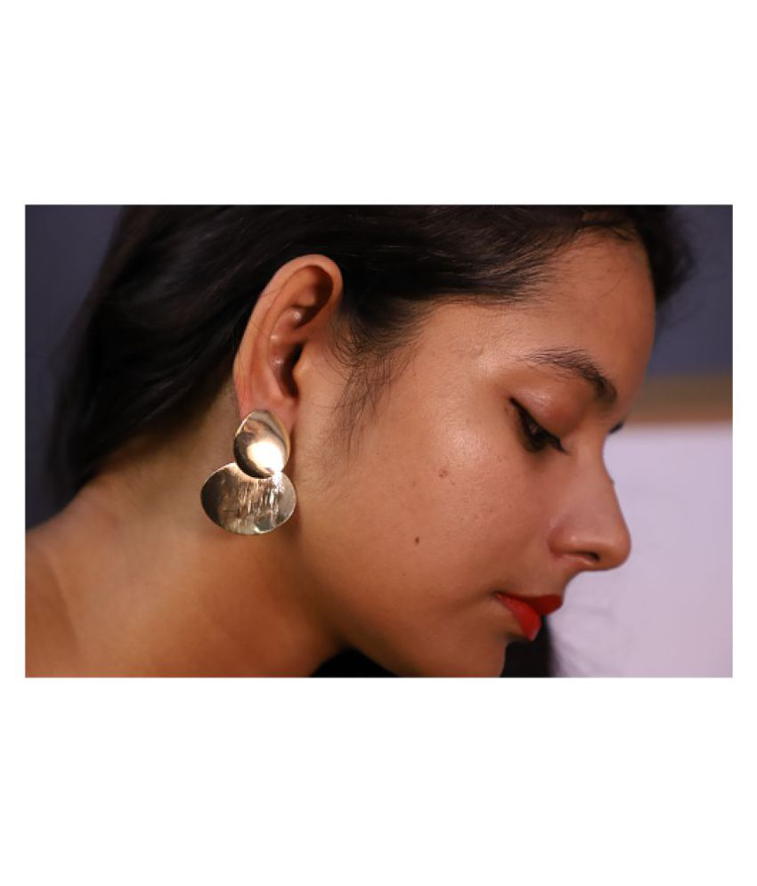 Econkart Silver Plated Earrings for women & Girls | lightweight earrings for women