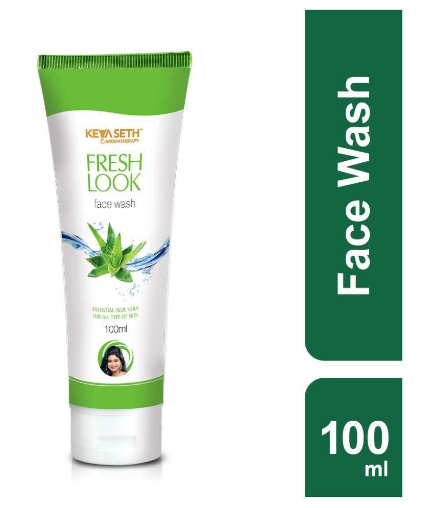 Keya Seth Aromatherapy Aloe Vera Face Wash 100 mL Pack of 3