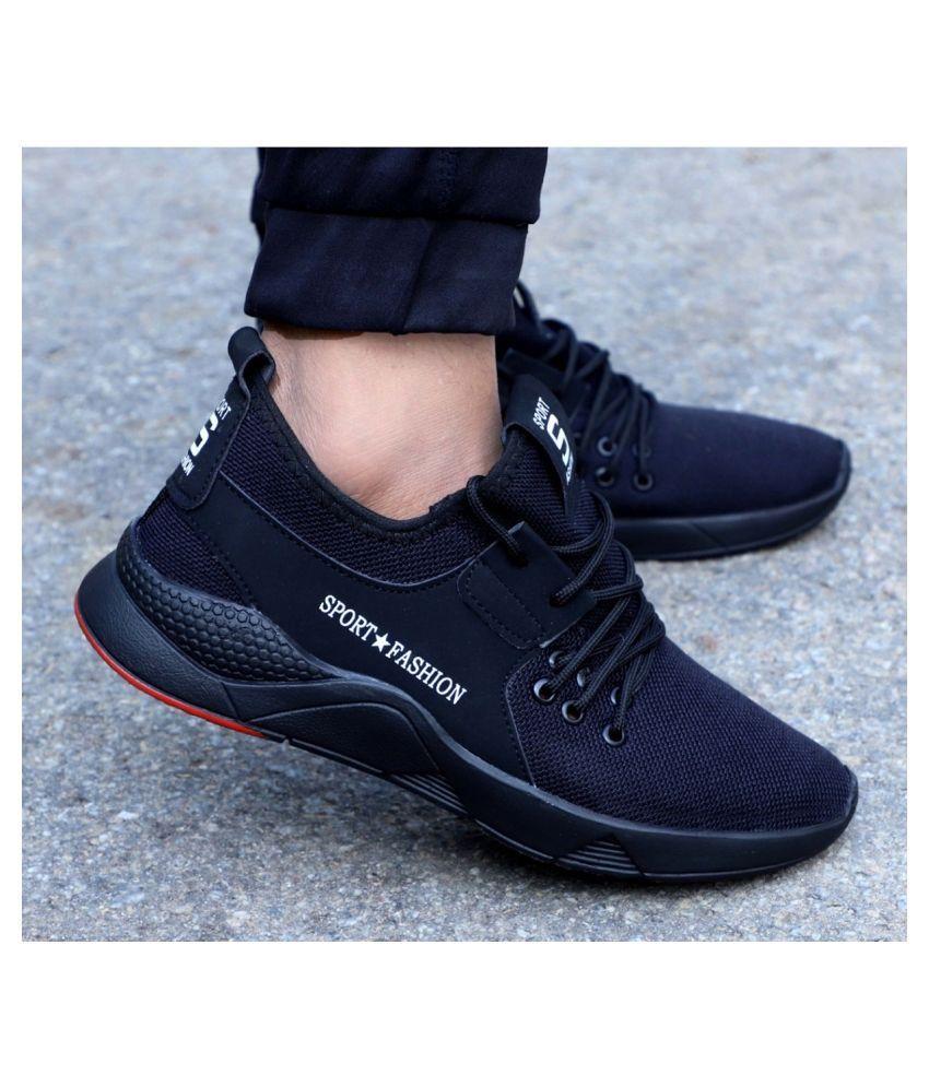Aadi Black Casual Shoes - Buy Aadi