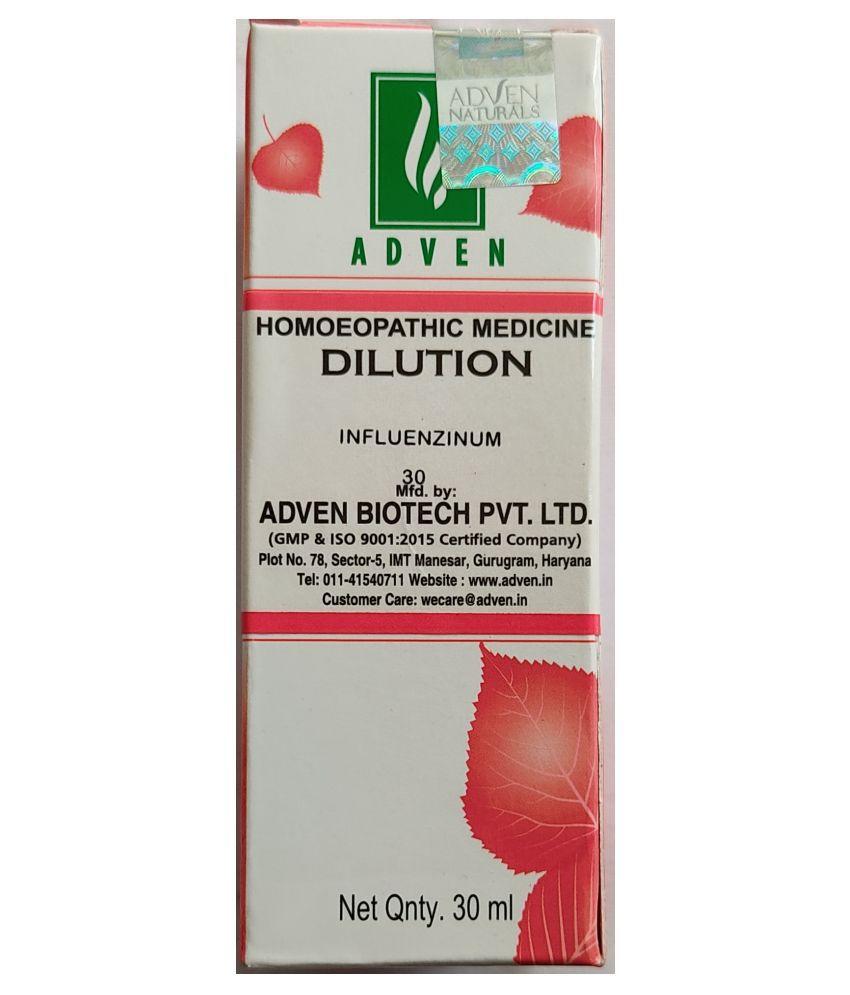 Adven Influenzinum 30 Liquid 30 ml Pack Of 5