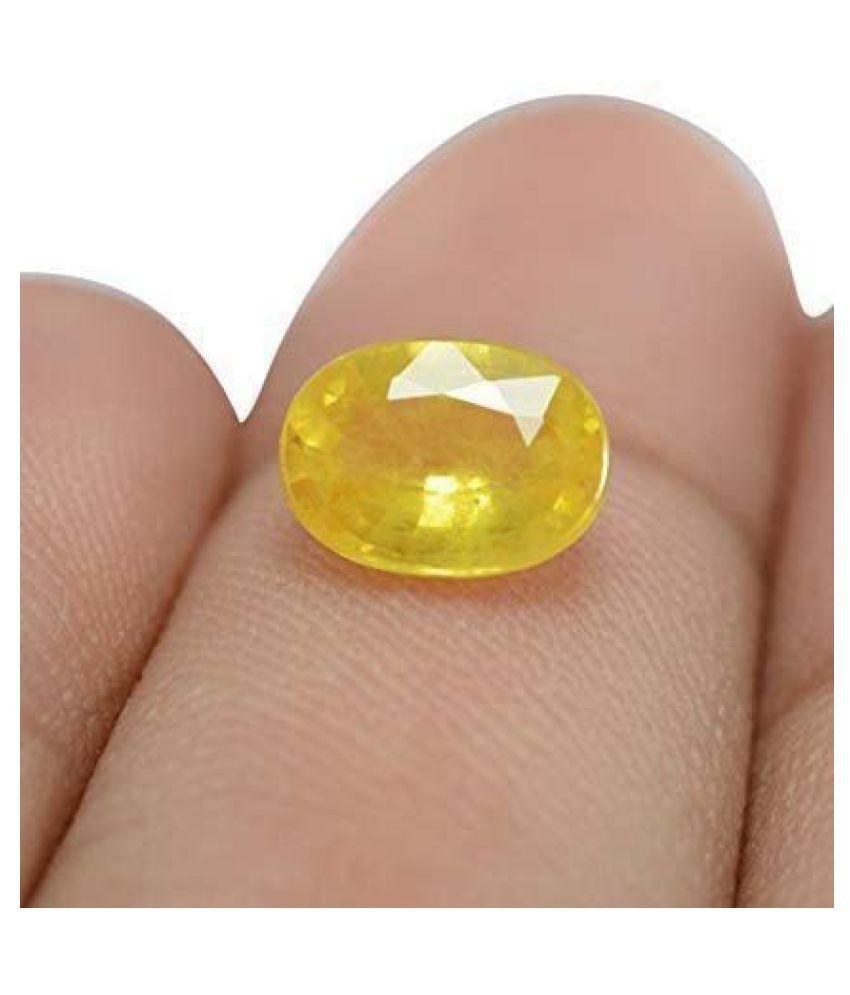 BL Fedput 11 - 11.5 -Ratti Self certified Yellow Sapphire (Pukhraj)