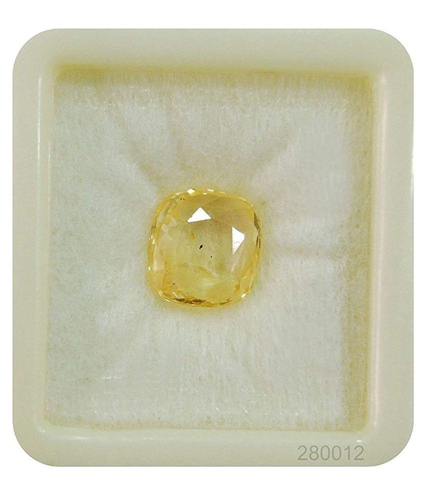 BL Fedput 5 - 5.5 -Ratti Self certified Yellow Sapphire (Pukhraj)