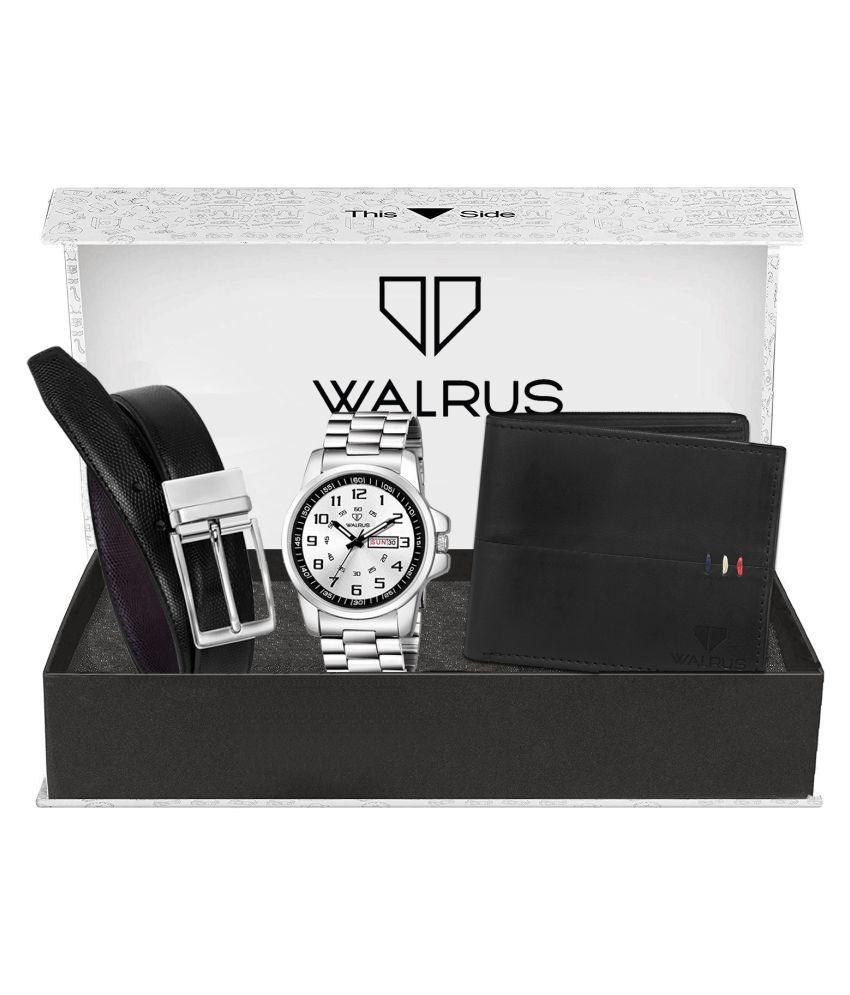 Walrus WWWBC COMBO26 Metal Analog Men #039;s Watch