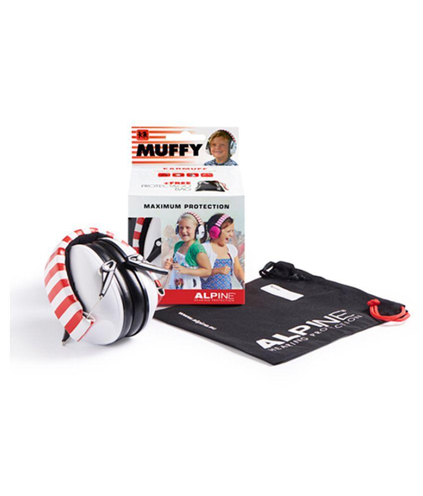 Alpine Muffy White Ear Muffs