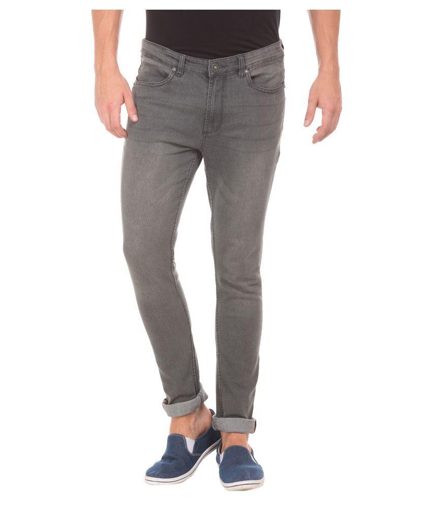 Cherokee Grey Slim Jeans