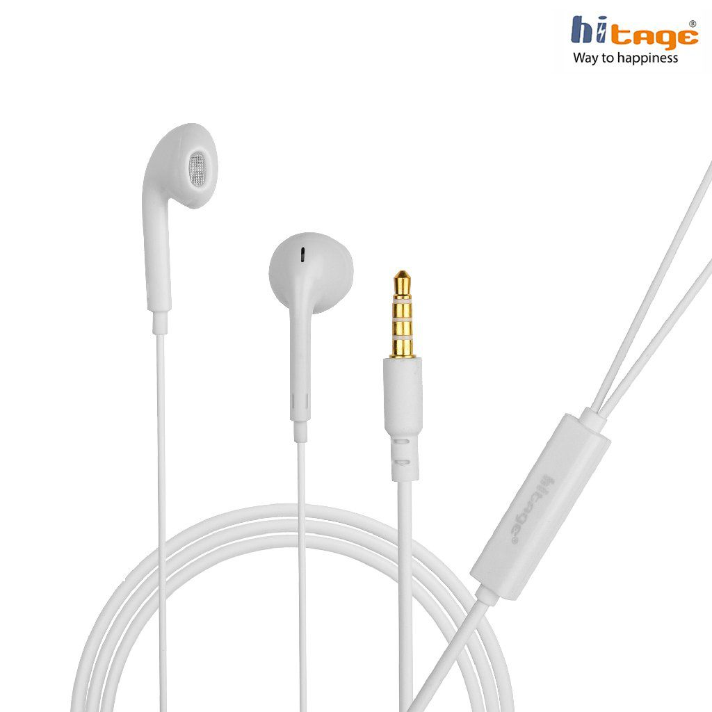 Hitage MicroBirdss iphone 4,5,5c,5s With Mic In Ear Wired With Mic Headphones/Earphones