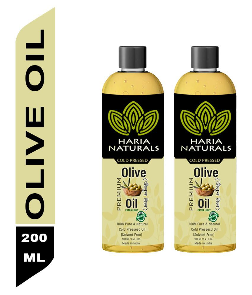 Haria Naturals Olive Hair Oil 100 mL Pack of 2
