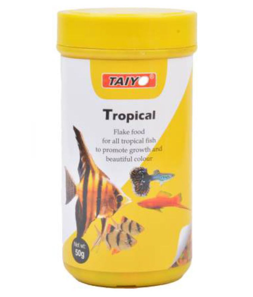 Taiyo Flake Food For Tropical Fishes Growth and Health,Nutrition-50gm