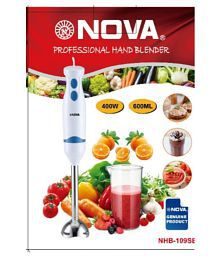 NOVA NHB-109SB WITH JAR 400 Watt Hand Blender