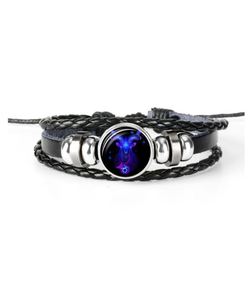 Chocozone Capricorn Zodiac Bracelet For Boys & Mens Bracelet