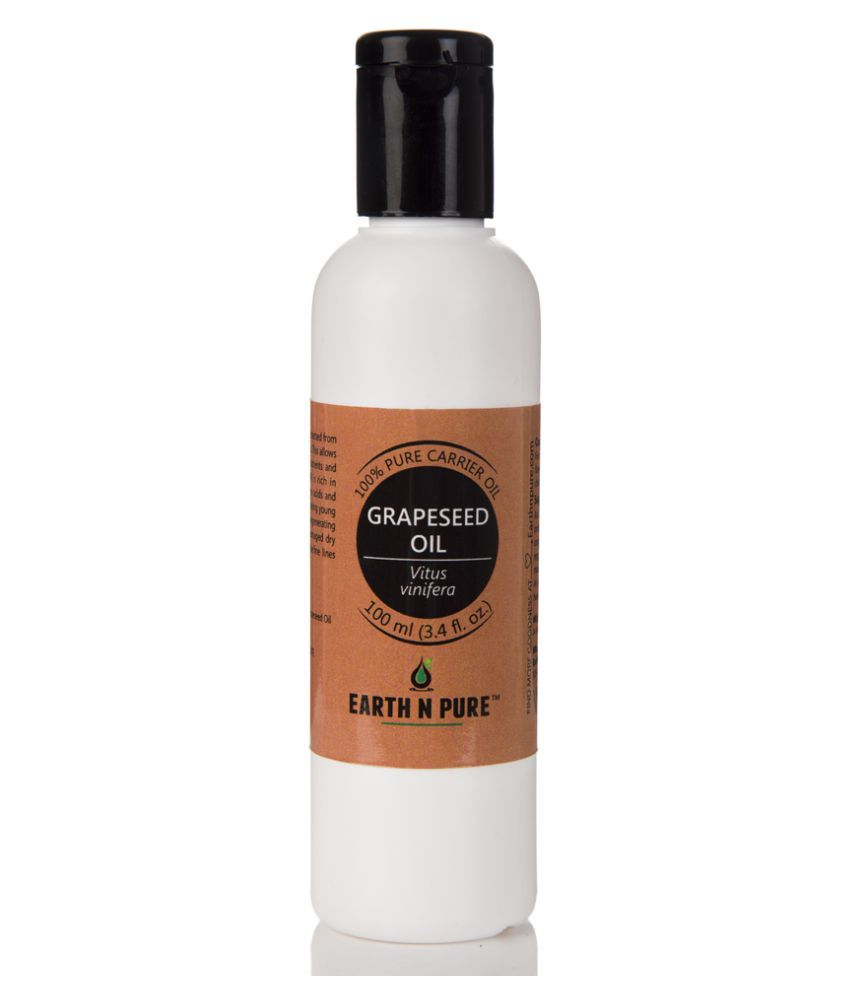 Earth N Pure Grapeseed Oil Carrier Oil 100 mL