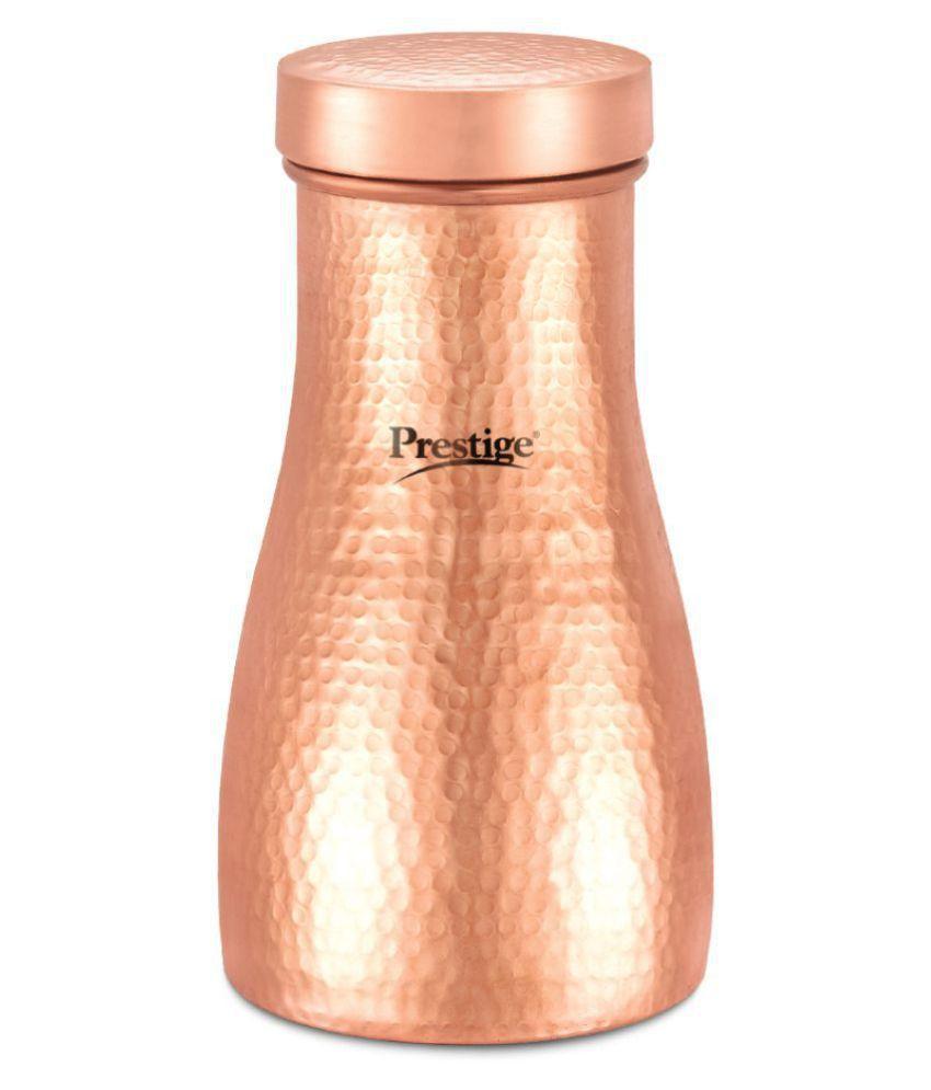 Prestige Tattva Bedroom Gold 900 mL Copper Water Bottle set of 1