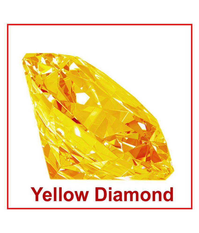 R.K Gems/Best Quality Yellow American Diamond Gemstone
