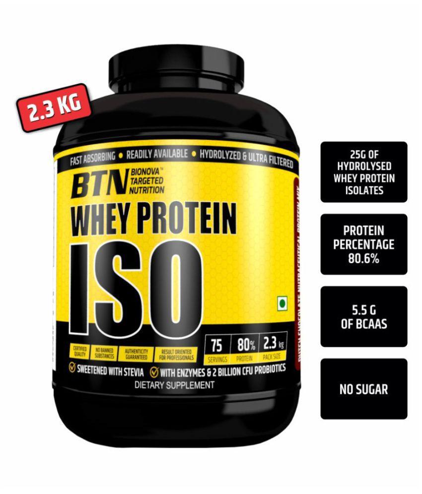 Bionova Whey Protein ISO 2.3 kg