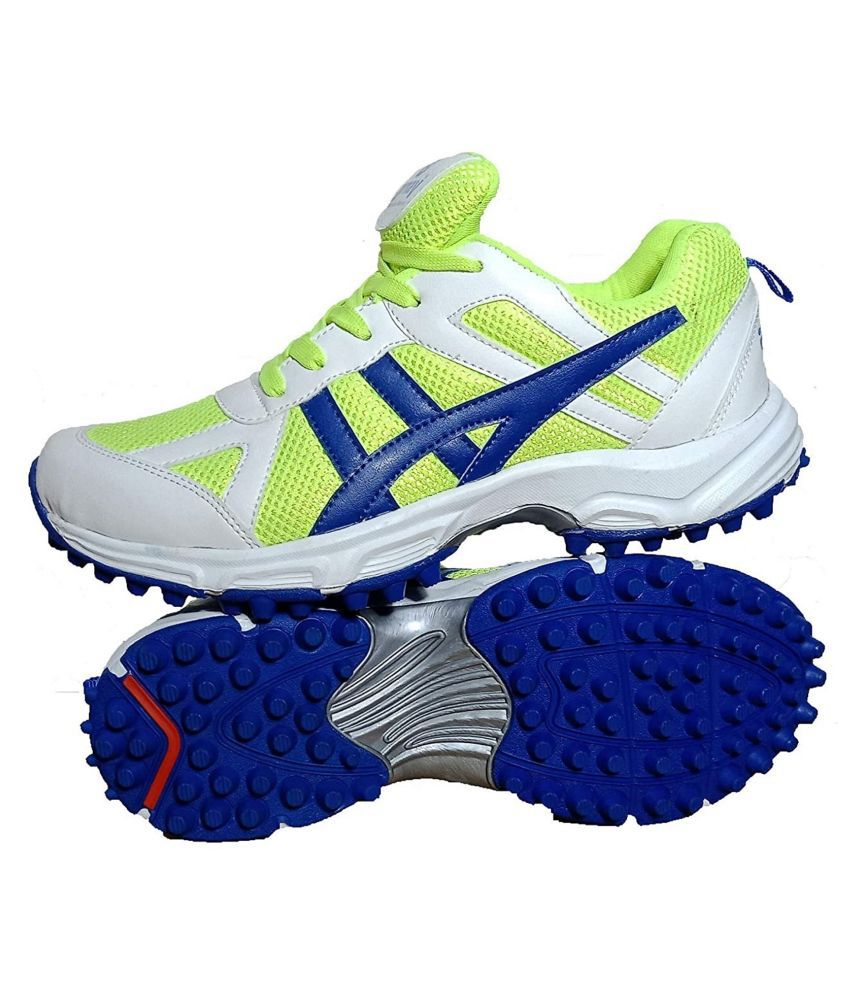 Arnav Rubber Spikes/Studs Multi Color Cricket Shoes