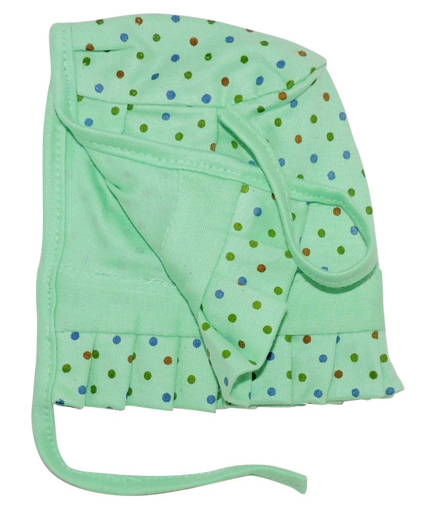 Life Begin with Satyamani Baby Deluxe Cap Dots Extra Large size (Pack of 3)