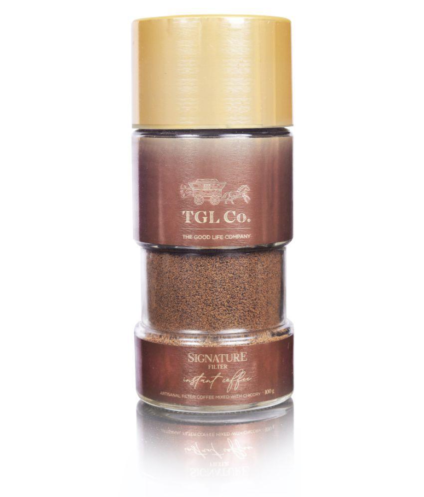TGL Signature Filter Coffee Powder, Instant Coffee Powder (100 gm) | South Indian Filter Coffee