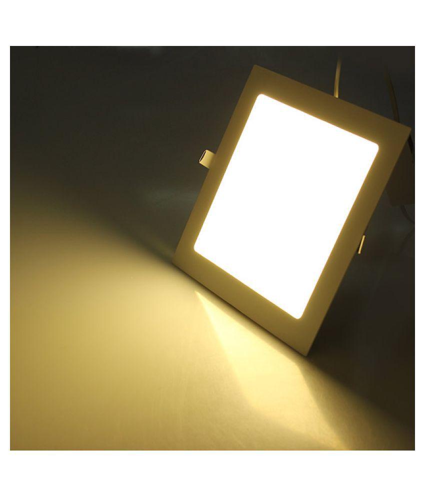 D'Mak 18W Square Ceiling Light 19.5 cms. - Pack of 1