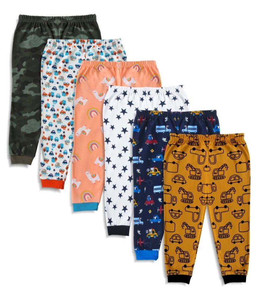 baby track pant multicolour set  of 6 pcs