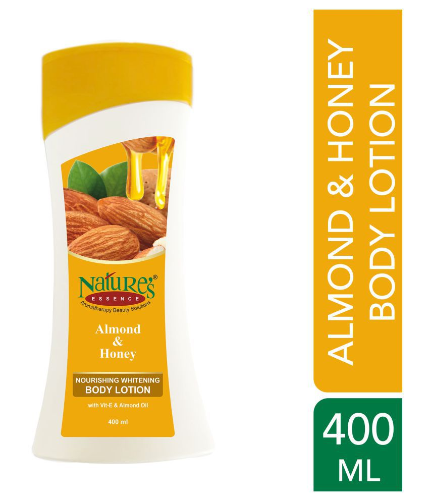 Natures Essence Almond & Honey Body Lotion ( 400 ml mL Pack of 2 )