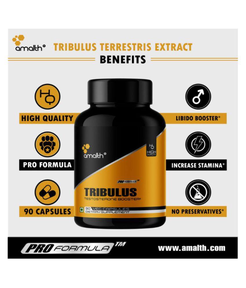 Amalth Tribulus Terrestris Extract Testosterone Booster Capsule 1000 mg: Buy Amalth Tribulus