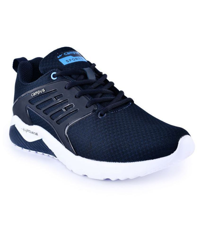 Campus CRYSTA Blue Running Shoes