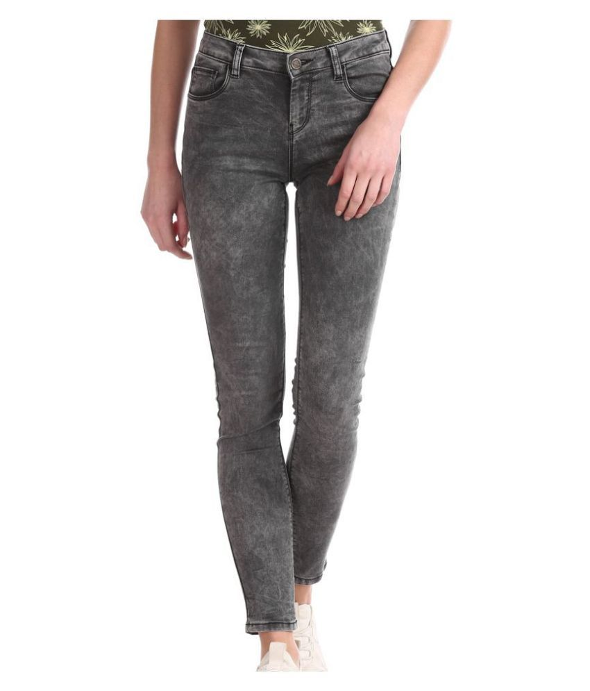 Cherokee Cotton Jeans - Grey