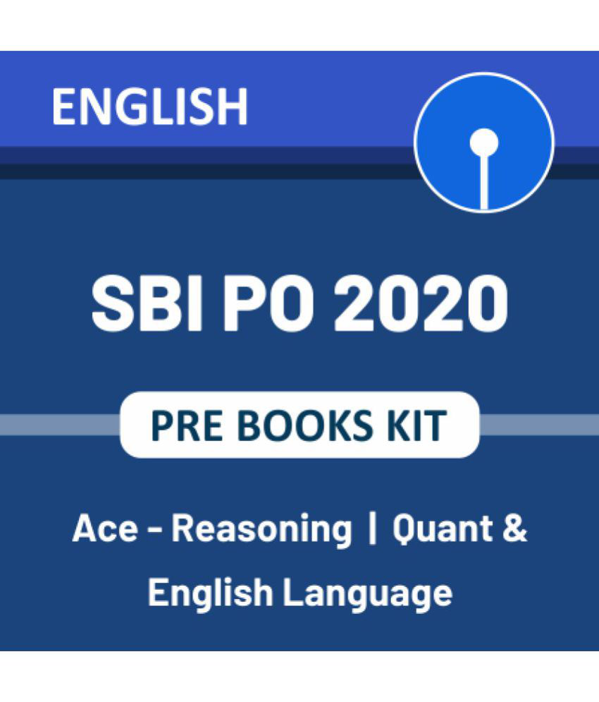 Adda247 SBI PO Prelims 2020 Books Kit (English Printed Edition)