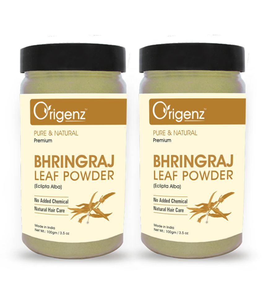 Origenz Premium Bhringraj Powder 100gm, Pack of 2