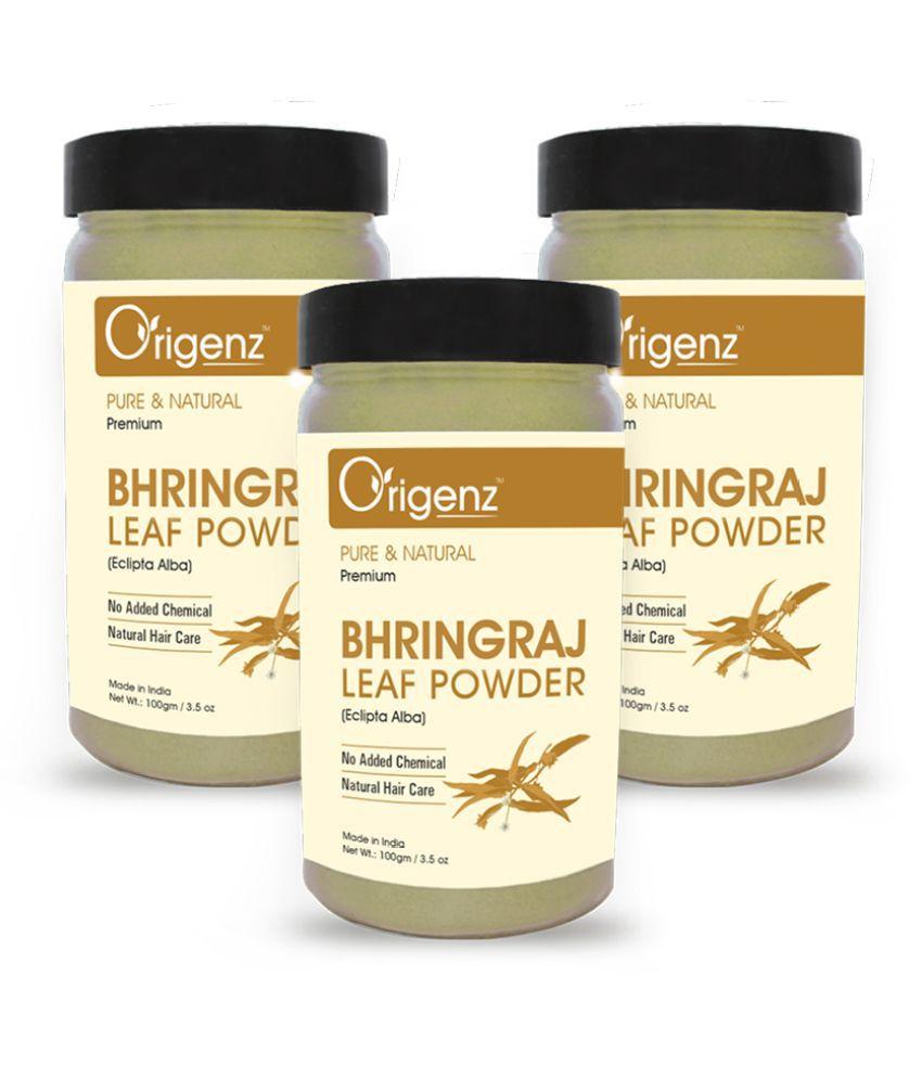 Origenz Premium Bhringraj Powder 100gm, Pack of 3 (Hair Pack)