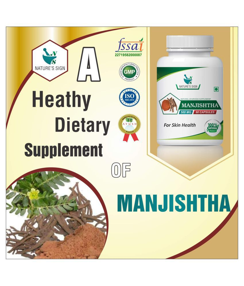 Nature's Sign Manjishtha For Skin Health 1 gm