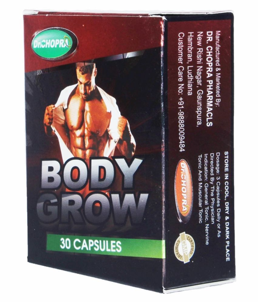 Rikhi Body Grow Weight Gainer Capsule 30 no.s Pack Of 2