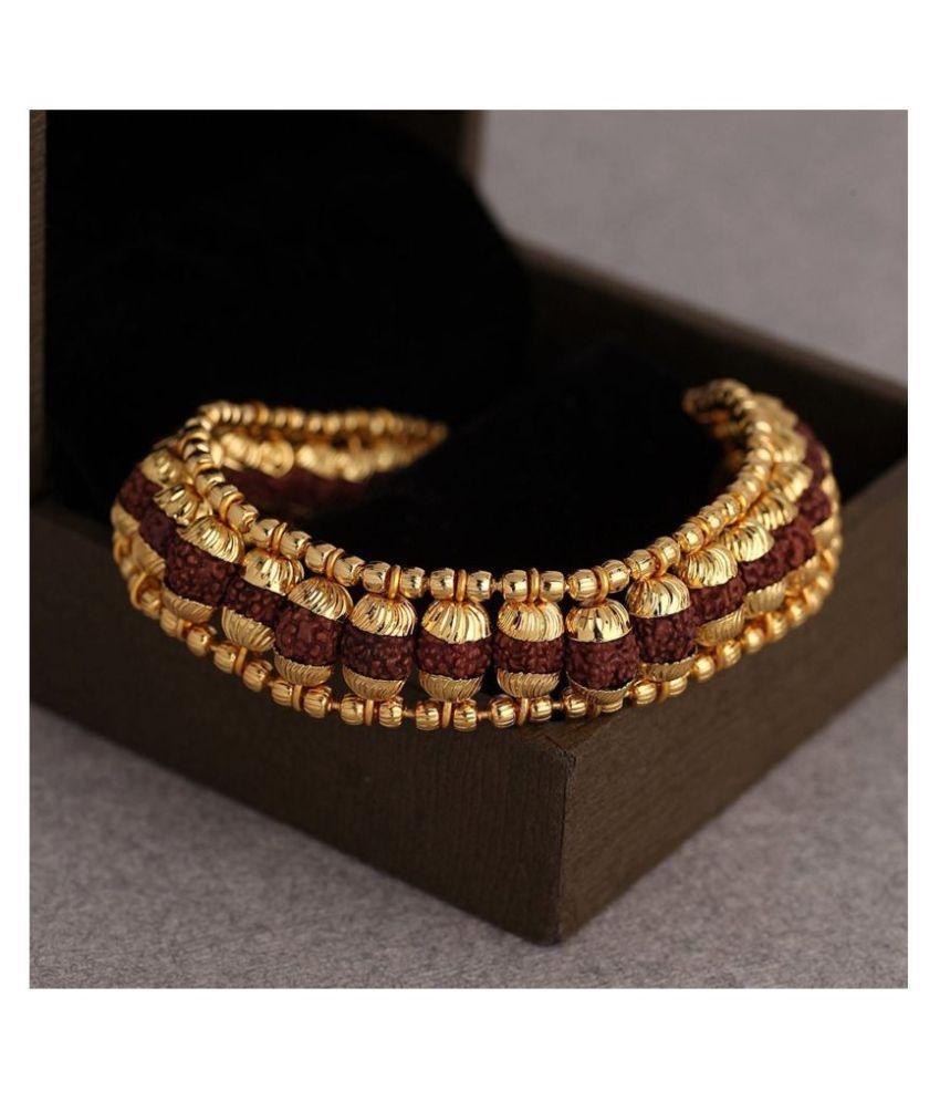 Green Spiritual Gold Brass & Copper etc Bracelets