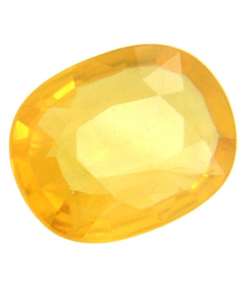 Barishh 4 - 4.5 -Ratti IGL Yellow Sapphire (Pukhraj)
