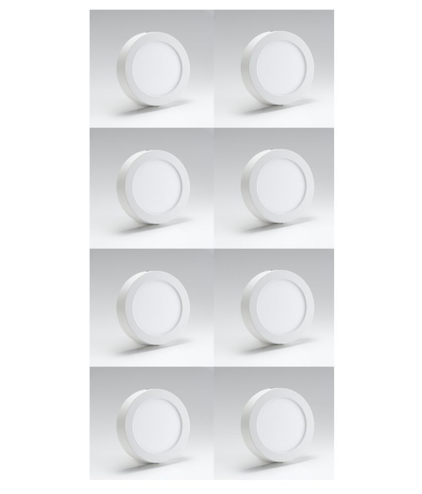 D'Mak Surface 15W Round Ceiling Light 16.2 cms. - Pack of 8