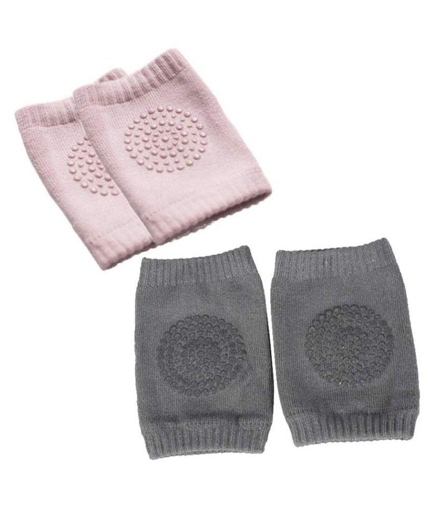 Electo Mania Pink Coton Baby Knee Pad 4 or more pcs