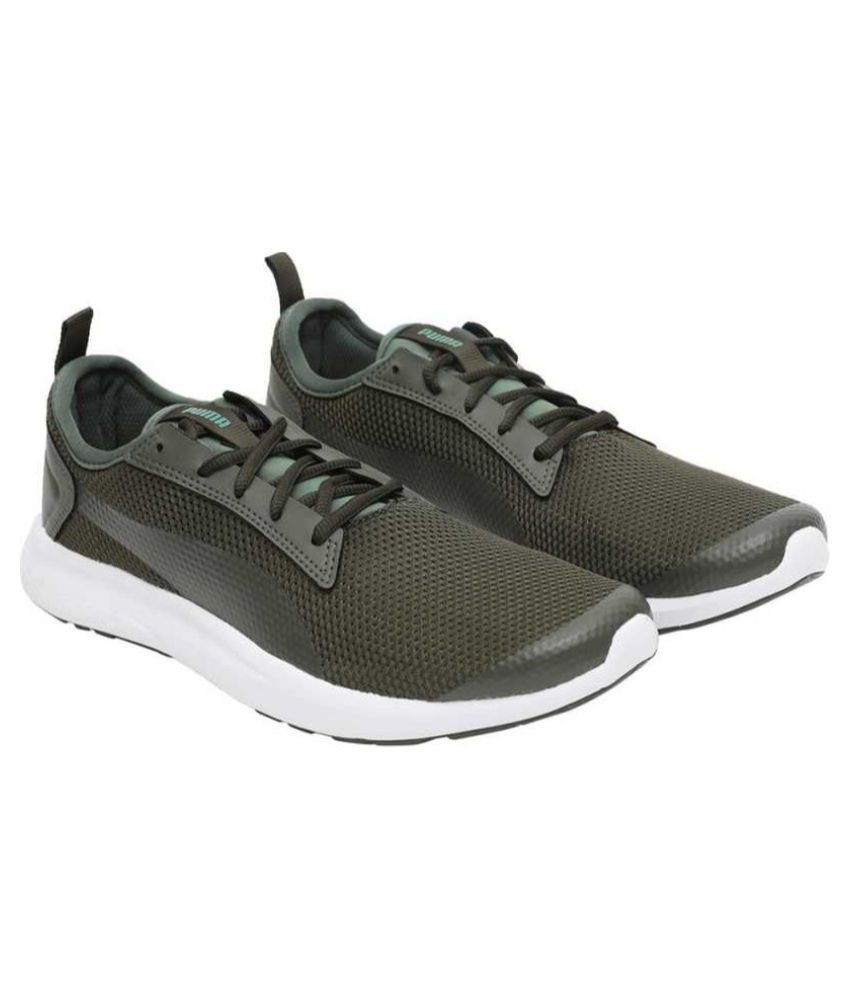 Breakout v2 IDP Olive Running Shoes