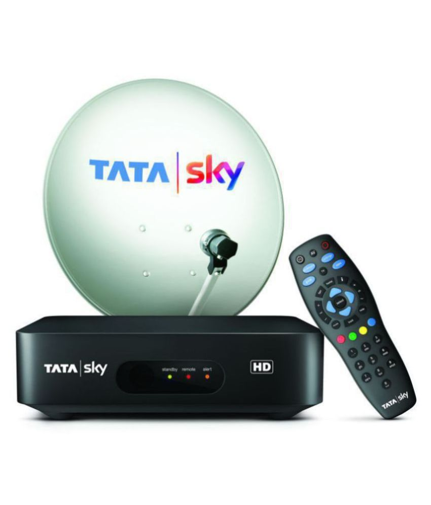 TATA Sky HD Connection with One Month Hindi Starter Pack with 1 month Subscription Free