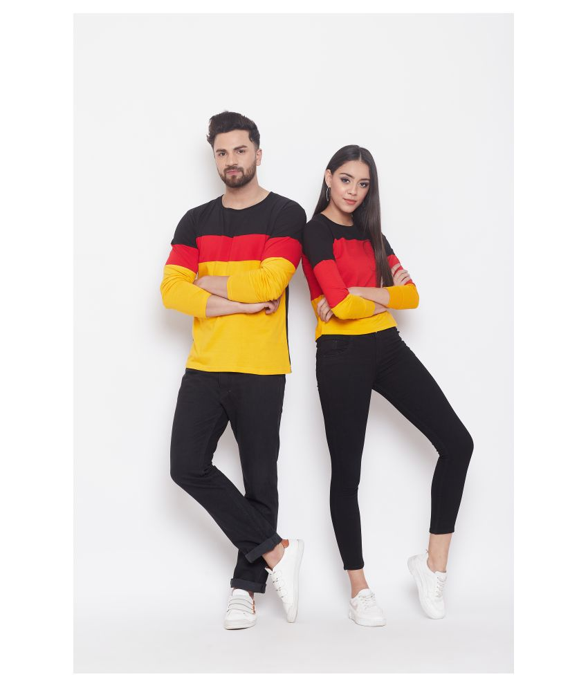 The Dry State Multi Color 100 percent cotton Couple Combo