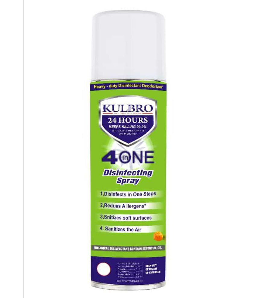 Kulbro Multipurpose Disinfectant & Sanitizing Spray for Automobile , Home & Offices