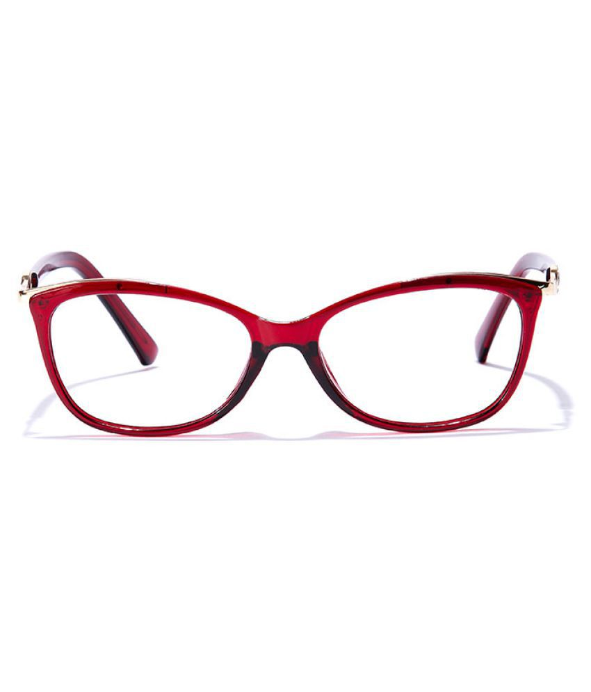 Coolwinks Maroon Oval Spectacle Frame CWE33C6252