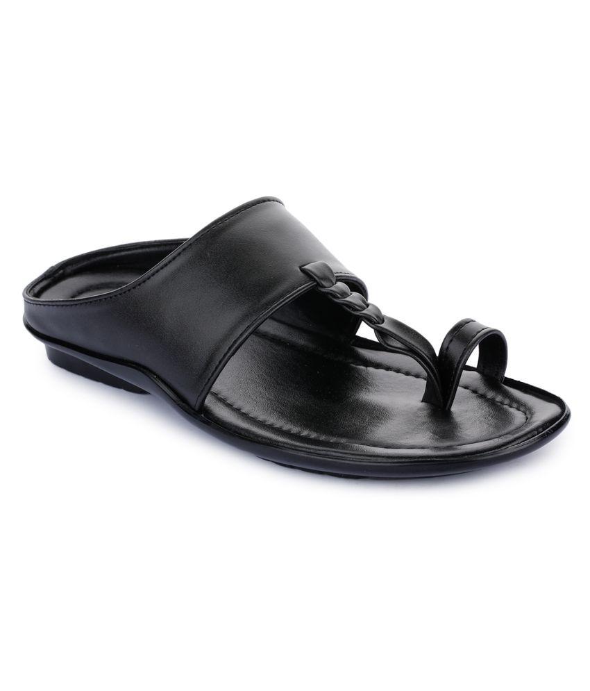 Liberty Black Thong Flip Flop