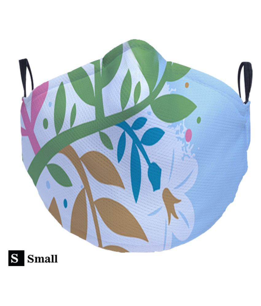 Right Gifting Anti Air Pollution Face Mask/FDA & CE Certified With 3 Layer Protection_Small