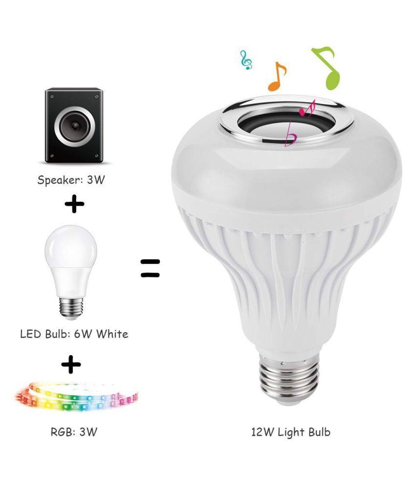 BonnyM 12W LED Bulb Warm White - Pack of 1