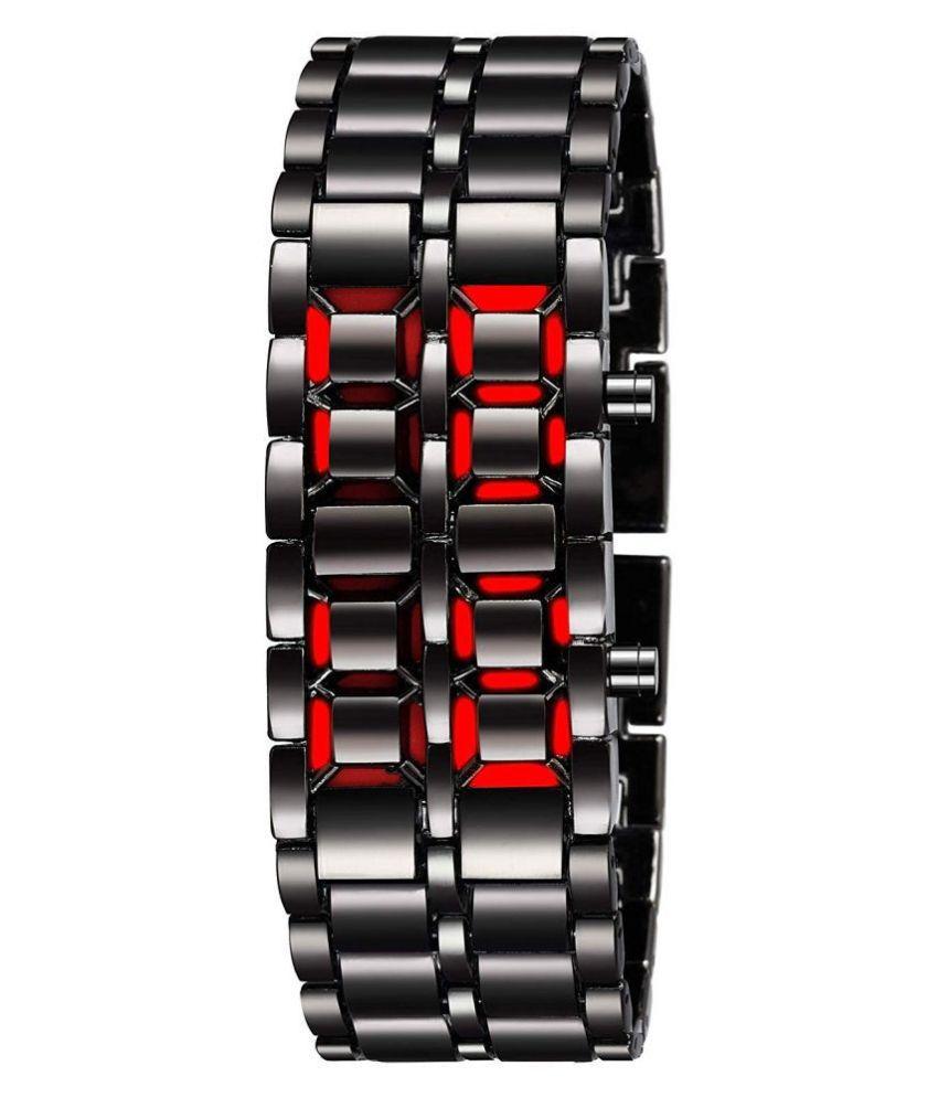 lambant lambant DANGER 001 Stainless Steel Digital Men's Watch