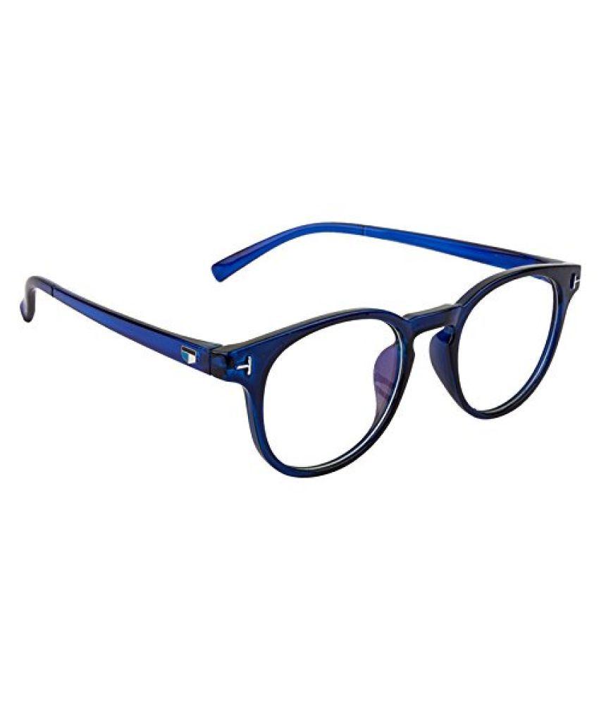 AAARAV Blue Oval Spectacle Frame sefie03