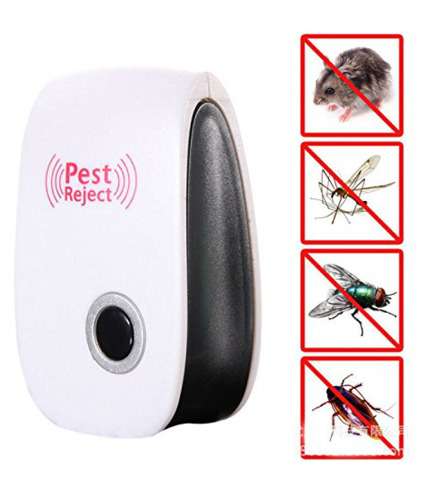 SAYFI Ultrasonic Pest Repellent for Mosquitoes, Mice, Ants, Roaches, Spiders, Flies, Bugs Repeller Electronic Machine