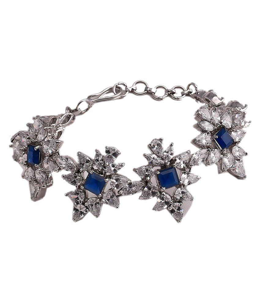 Mehak Gupta Copper Golden Silver Designer Bracelet For Women/Girls