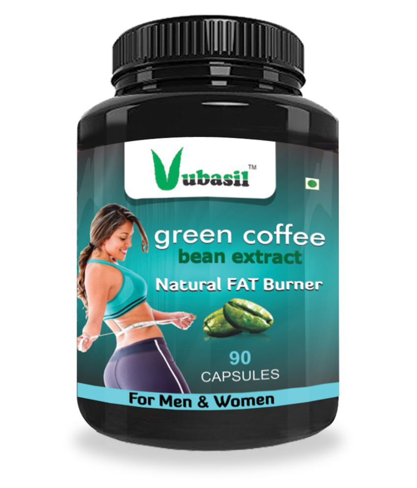 VUBASIL Herbal Green Coffee Extract Fat Burner Capsule 90 no.s Pack Of 1